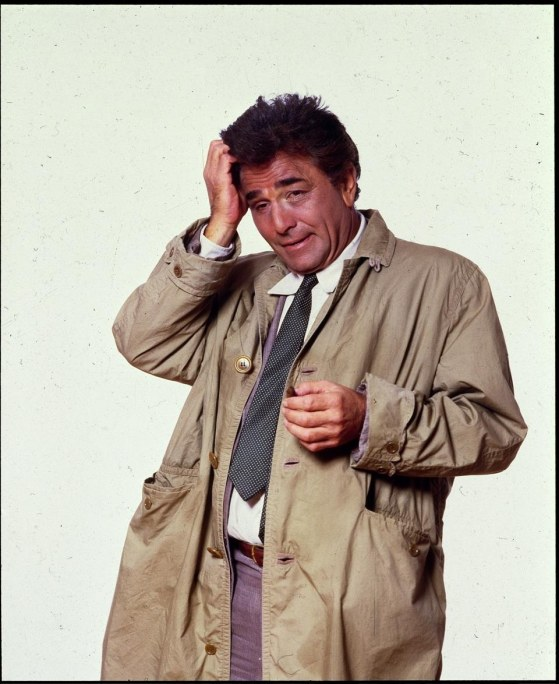 Columbo Played By Peter Falk Playback Image Poster