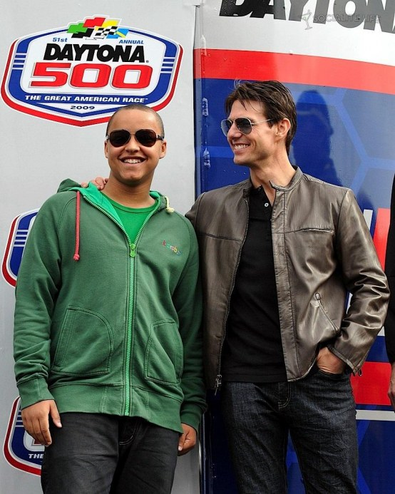 Connor Cruise Tom Cruise Indy