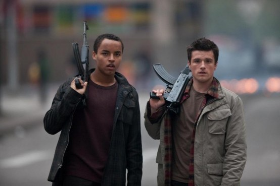 Picture Of Josh Hutcherson And Connor Cruise In Red Dawn Large Picture Number And Josh Hutcherson