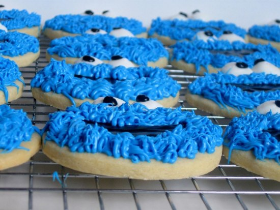 Cookie Monster Face