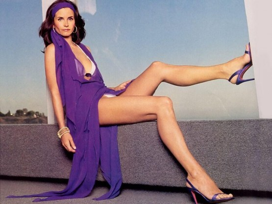 Legs Courteney Cox Young