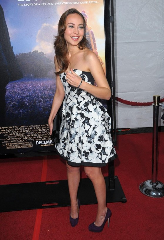 Courtney Ford The Lovely Bones Premiere