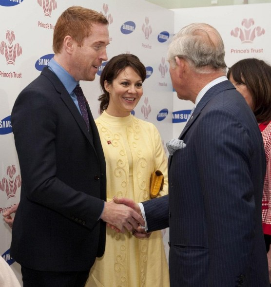 Damian Lewis Prince Charles Young Achievers Fw Prr Xx Young