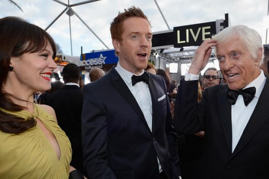 Dick Van Dyke Damian Lewis And Helen Mccrory Large Picture Helen Mccrory