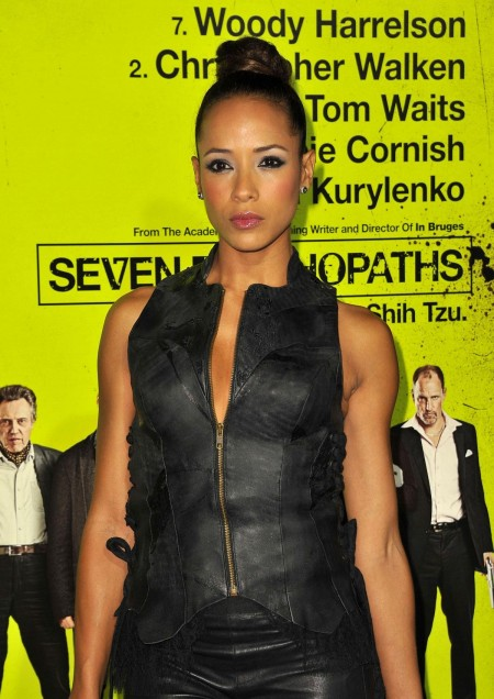 Dania Ramirez At Seven Psychopaths Premiere