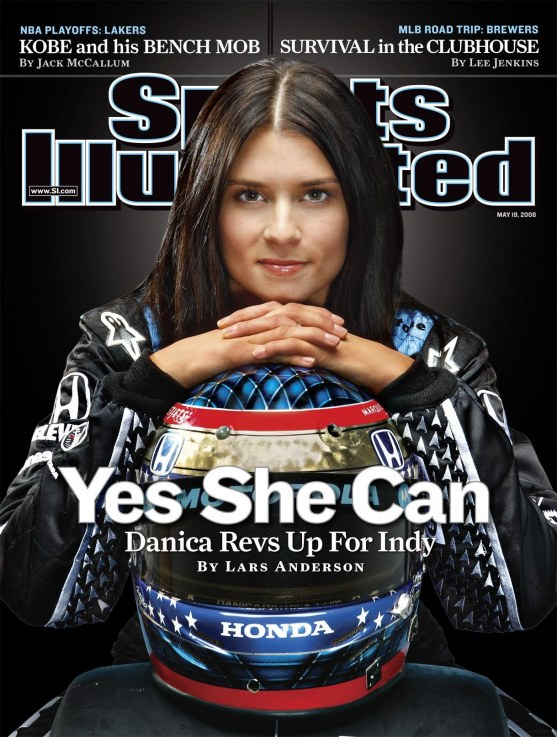 Danica Patrick Andretti Green Racing Team Sports Illustrated Cover Girl
