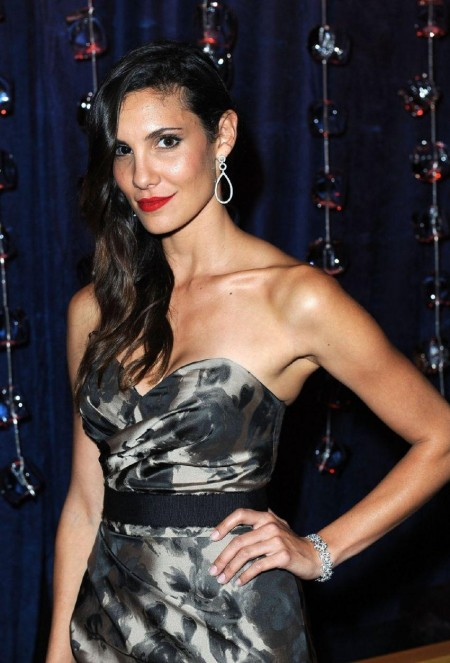 Daniela Ruah Beckstrand Foundation Diamond Pearl Ball In California