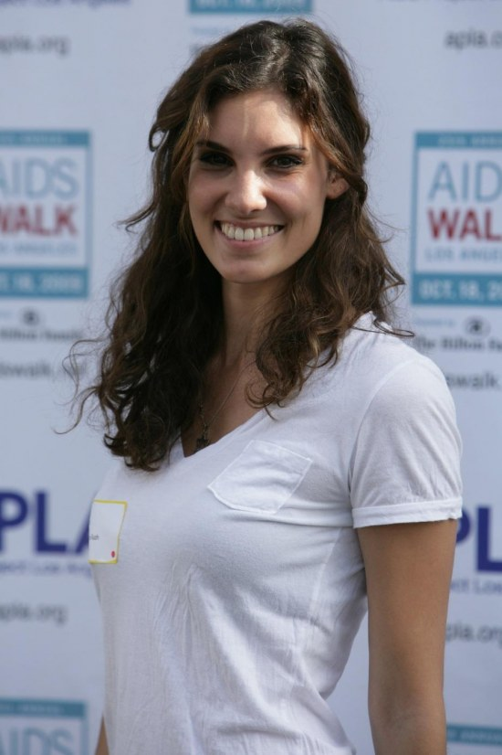 Daniela Th Annual Aids Walk Los Angeles October Daniela Ruah