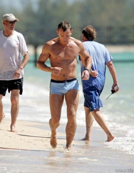Daniel Craig James Bond Swimsuit James Bond