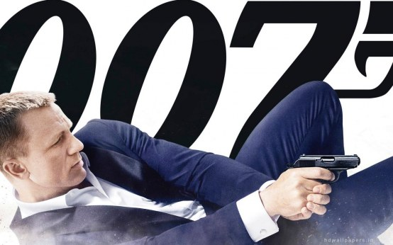 Skyfall Daniel Craig Wide James Bond