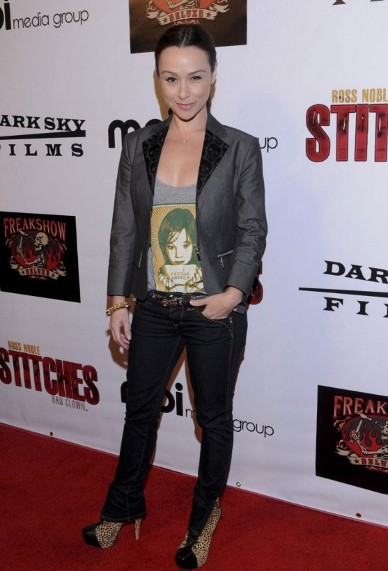 Danielle Harris At The Stitches Premiere In Los Angele