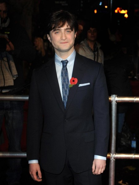 Daniel Radcliffe Blue Suit And