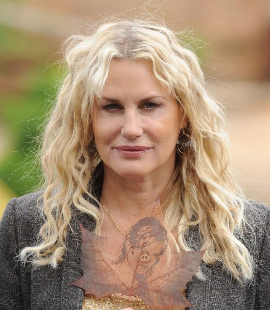 Daryl Hannah Arrested At The