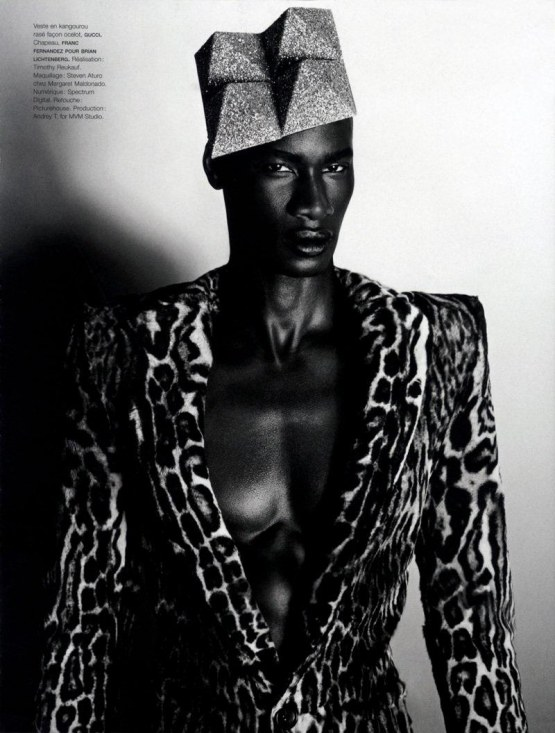 David Agbodji In Numero Homme Fall Edition Hot