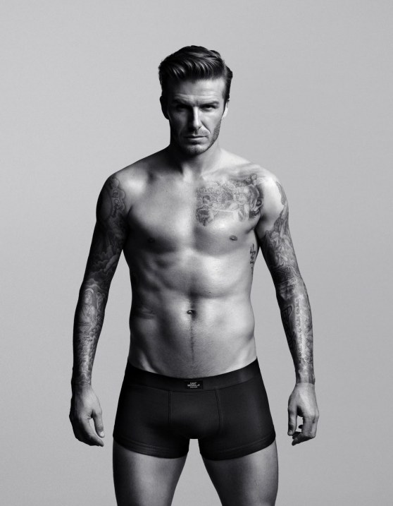 Hm Unveil David Beckham Bodywear Line