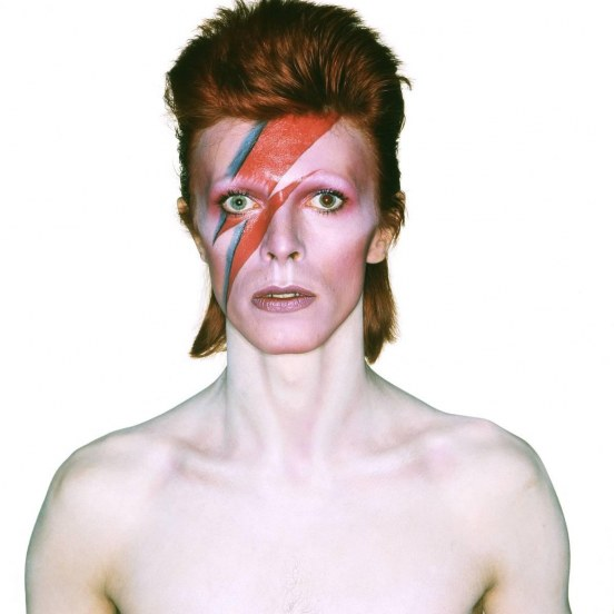 David Bowie Cover Shoot For Aladdin Sane Brian Duffy Makeup By Pierre Laroche Makeup