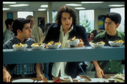 Picture Of Heath Ledger Joseph Gordon Levitt And David Krumholtz In Things Hate About You Large Picture Superbad