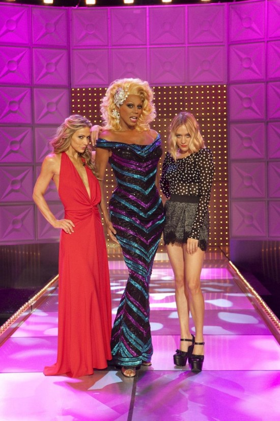 Picture Of Chlo Xeb Sevigny Debbie Matenopoulos And Rupaul In Rupaul Drag Race Large Picture