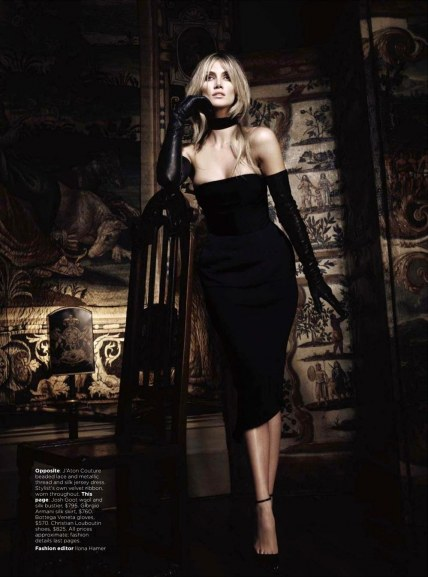 Delta Goodrem Vogue Australia Fashion