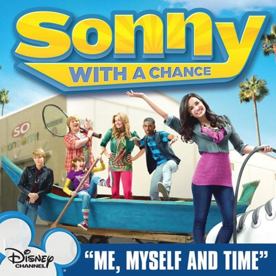 Demi Lovato Me Myself Time From Sonny With Chance Cd Single Frontal Sonny With Chance