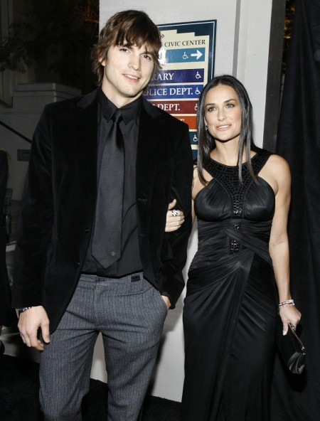Ashton Kutcher And Demi Moore Ashton