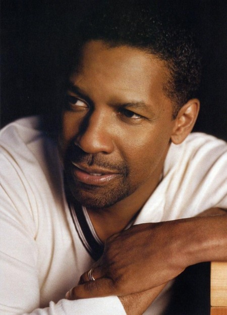Denzel Washington Close Up Wife
