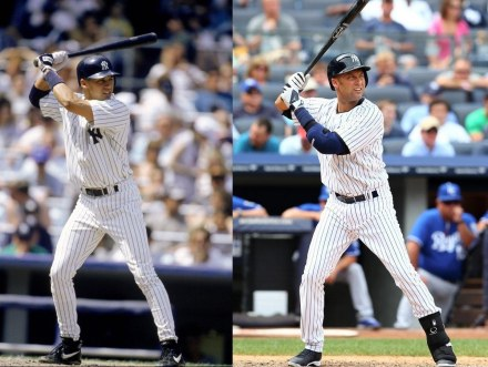Derek Jeter In Age And In