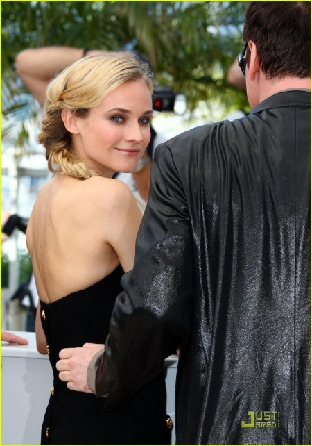 Diane Kruger Inglourious Basterds Photocall In Cannes Actresses Inglourious