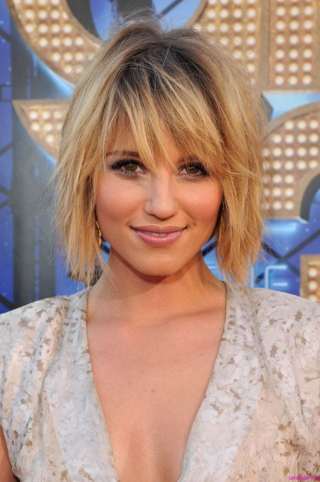 Dianna Agron Dress Glee Concert Movie