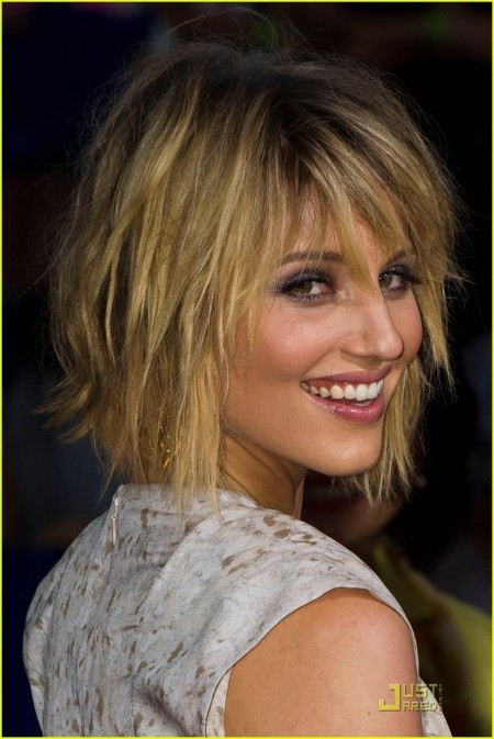 Dianna Agron Glee Movie Premiere Heroes