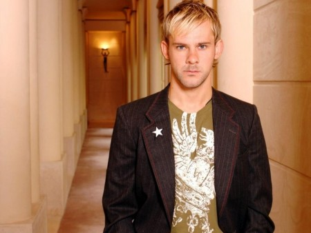 Dominic Monaghan Actor Guy Hall Jacket Serious Shirt