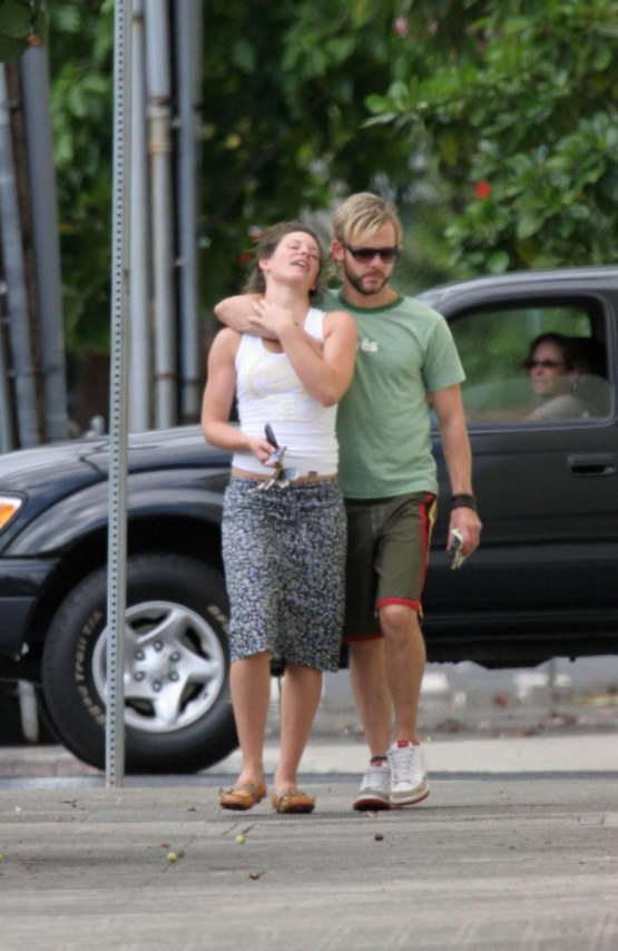 Evangeline Lilly And Dominic Monaghan And Evangeline Lilly