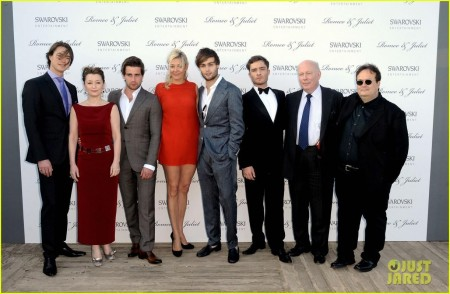 Douglas Booth Ed Westwick Romeo Juliet At Cannes
