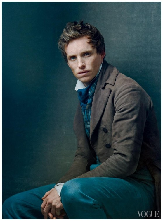 Eddie Redmayne Les Miserables Promo Pic Annie Leibovitz For Vogue Black And White