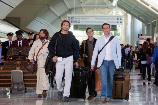 The Hangover Part Movie Image Zach Galifianakis Bradley Cooper Justin Bartha Ed Helms Glasses