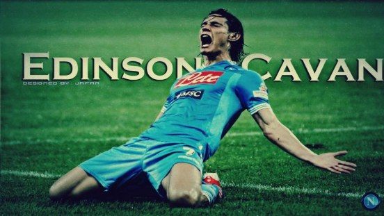 Edinson Cavani Napoli Wallpaper