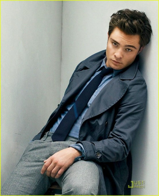 Ed Westwick Gq Magazine Fall Fashion