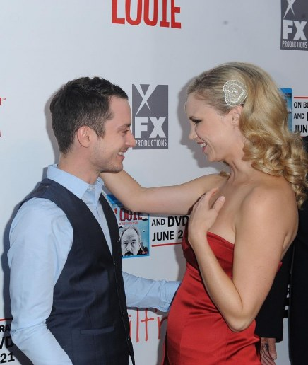 Elijah Wood Fiona Gubelmann Premiere Party Fl Oomn Jx Fashion