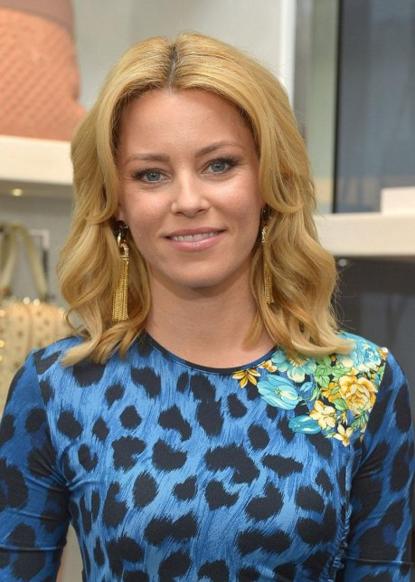 Elizabeth Banks At Luncheon Benefitting Vital Voices Global Partnership At Versace In Beverly Hills Fashion