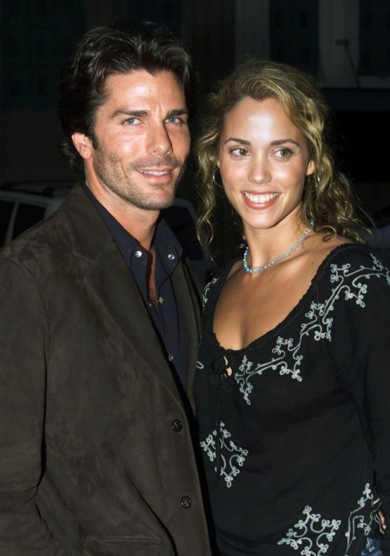 Elizabeth Berkley And Husband Greg Lauren And Greg Lauren