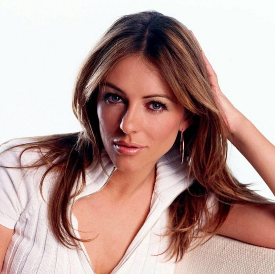 Elizabeth Hurley Hair Ipad Wallpaper