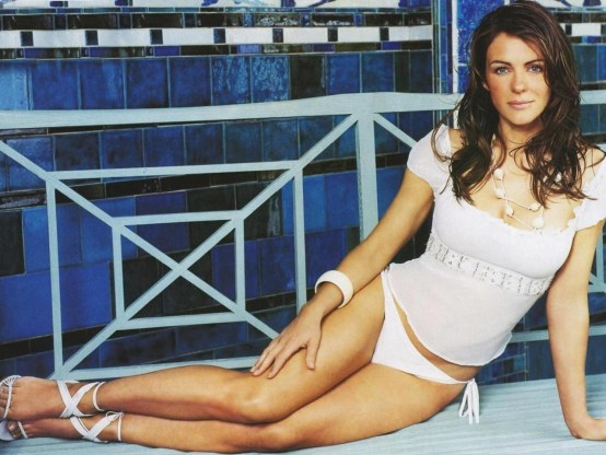 Elizabeth Hurley Hd Wallpapers Wallpaper