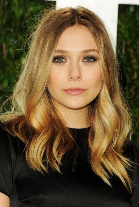 Elizabeth Olsen At Vanity Fair Oscar Party At Sunset Tower