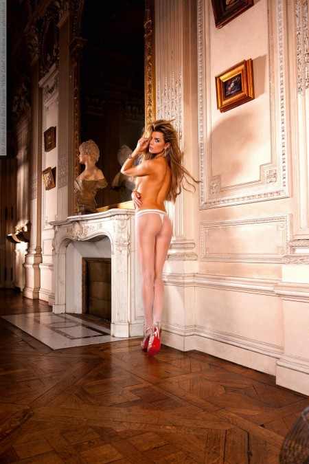 Elle Liberachi For Baci Lingerie White Label Collection Photoshoot Id
