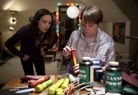 Rainn Wilson Amp Ellen Page In James Gunns Super Photo Credit Steve Dietl