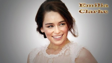 Emilia Clarke Beauty Wallpaper