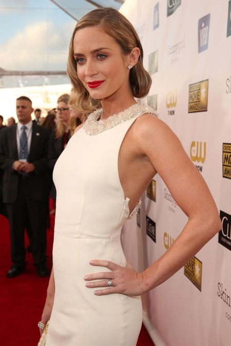 Emily Blunt At Th Critics Choice Movie Awards In Santa Monica