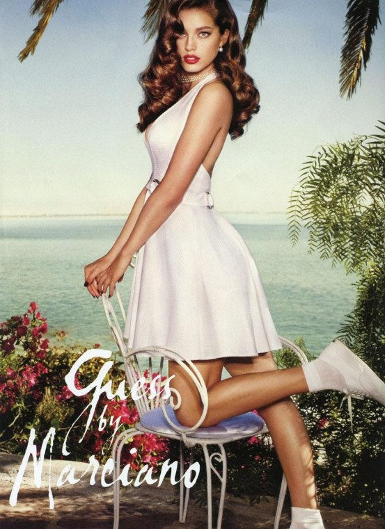 Emily Didonato Guess By Marciano Spring Summer Ad Campaign Guess
