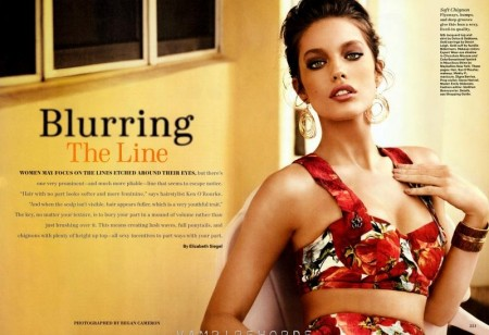 Fashion Scans Remastered Emily Didonato Allure April Scanned By Vampirehorde Hq