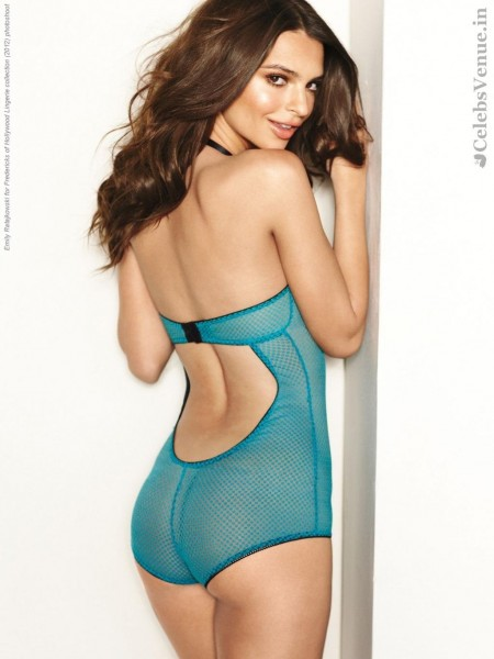 Emily Ratajkowski For Fredericks Of Hollywood Lingerie Collection Photoshoot